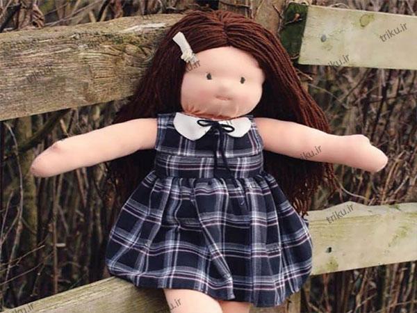 پارچه تریکو کشی برای عروسک